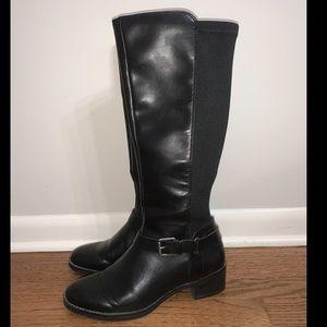 Black, riding boots
